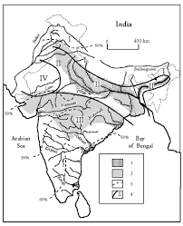 Map Of Indus River Map Of India Showing The Major Rivers And The Flood Prone