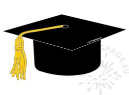 black graduation cap and gown black graduation cap clipart coloring page