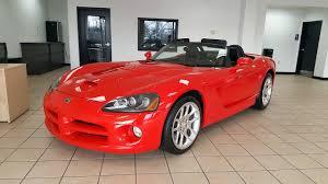 2003 dodge viper srt 10 roadster for sale columbus ohio youtube