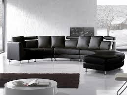 rund sofa sofa leder schwarz rund rotunde