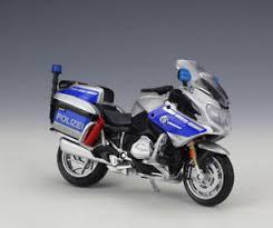 bmw motocross bike 1 18 maisto bmw r1200rt germany police motorcycle bike model new ebay