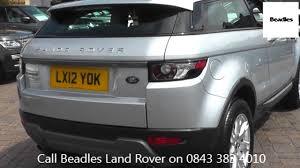 beadles indus silver 2012 land rover range rover evoque sd4 pure
