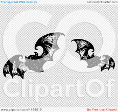 halloween background png black white clipart of sketched black and white flying halloween bats 1