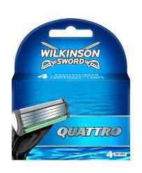 wilkinson sword kitchen knives amazon com wilkinson sword quattro razor blades pack of 4