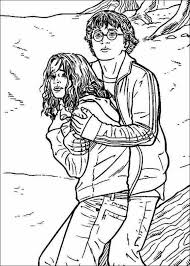 tremendous coloring pages color harry potter coloring