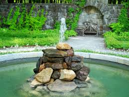 Rock Fountains For Garden Rock Outdoor Crafts Home