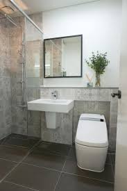 cloakroom bathroom ideas small white cloakroom with striped grey camouflage bedding