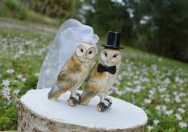 owl wedding cake topper wedding cake toppers owls picture owls wedding cake topper barn