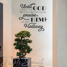 scripture wall decals inspiring bible verse wall quotes simple