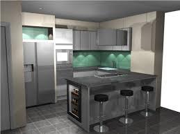 cuisine avec cave a vin chambre idee cuisine cuisine blanche idee deco avec des idees
