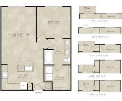 750 Sq Ft by Spacious Floor Plans U2013 Elan City Lights