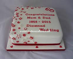 60 year wedding anniversary anniversary cakes putnoe cakes