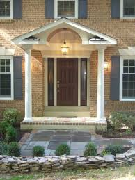 covered front porch plans best small front porch design the home for pic on a brick ranch for