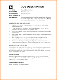Resume For A Cashier Cashier Duties And Responsibilities Resume Fast Food Job