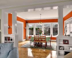 Orange Dining Room Top 30 Craftsman Dining Room Ideas U0026 Remodeling Pictures Houzz