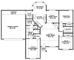 best single story floor plans 5 bedroom single story house plans best 5 bedroom single story house