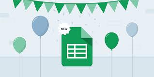Google Spreadsheet Widget Feature Announcement New And Enhanced Google Sheets Dashboard