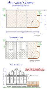 porch blueprints sunroom blueprints brase deck and porch plans designs drawings