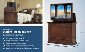 amazon bookshelf black friday sale amazon com touchstone 72008 elevate tv lift cabinet u2013 50 u201d wide