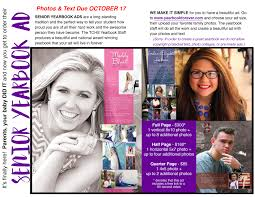 baby yearbook yearbook senior ads due oct 17 timber creek talon
