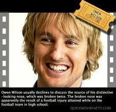 Owen Wilson Meme - owen wilson s nose quick movie facts
