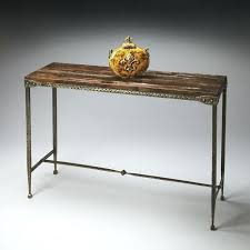wood and metal console table metal and wood console table fine furniture design harbor springs