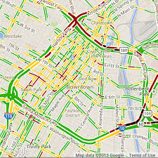 traffic map how to get average traffic data on map stack overflow