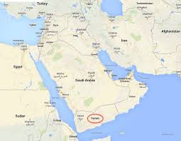 where is yemen on the map so and thanks for all the coffee getting out of yemen