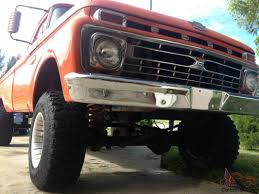 1966 ford f100 4x4 4wd no reserve nr