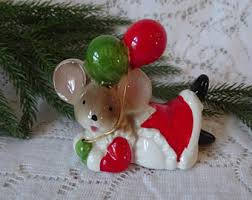 mouse figurines etsy