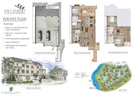 Mixed Use Building Floor Plans by Features U0026 Floor Plans Salt Marsh At Seabrook Island