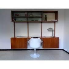 bureau vintage design bureau de ministre noir et marron bureau haut ministre noir