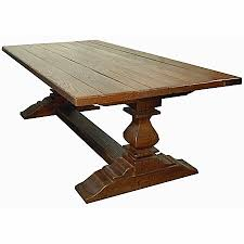 Pedestal Dining Table Double Pedestal Dining Table J Tribble