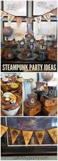 Halloween Themed Birthday Parties by 25 Best Steampunk Halloween Ideas On Pinterest Steampunk