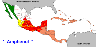 Map Of Central America And Mexico by Political Map Of Central America And The Caribbean Nations In