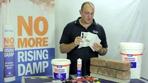 dpc cream damp proof course rising damp treatments youtube