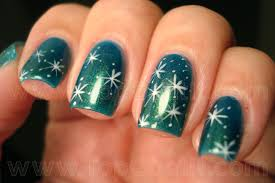 17 snowflake nail tutorials pretty designs