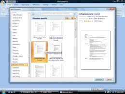Microsoft Resume Templates Free Resume Templates Microsoft Word 2007 Resume Template And