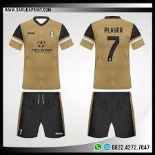 desain jaket warna coklat desain seragam futsal code 71 garuda print garuda print