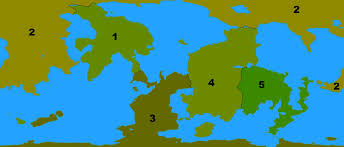 Continents On Map Invention Kgss Continent Naming Committee Ksp Fan Works