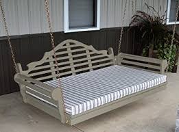 Swinging Bed Frame 6 Porch Swing Bed Classic Lutyens Swinging Daybed