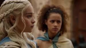 Emilia Clarke Bathtub Game Of Thrones S03e04 Daenerys Frees The Unsullied Youtube