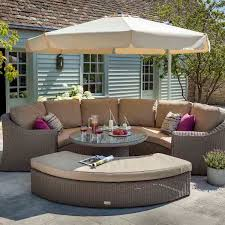 Balinese Dining Table with Bali Weave Garden Furniture Our Range Hartman Outdoor