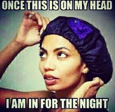 Natural Hair Meme - satin bonnet natural hair meme black naps