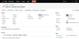 sample bug report using jira to create an issue bugs feature requests fill out the form and hit the create button jira should generate an issue name linked to a summary of the created ticket