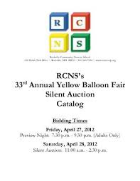 silent auction rules go for broke educational foundation