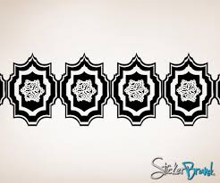 Moroccan Pattern Art Moroccan Wall by Vinyl Wall Decal Sticker Moroccan Pattern Os Aa117