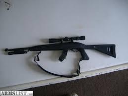 ruger 10 22 light mount armslist for sale ruger 10 22 carbine with light