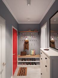 modern coat rack near the door in entry way keep the space so