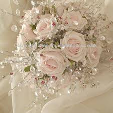 silk bridal bouquet silk flowers for wedding bouquets cheap kantora info